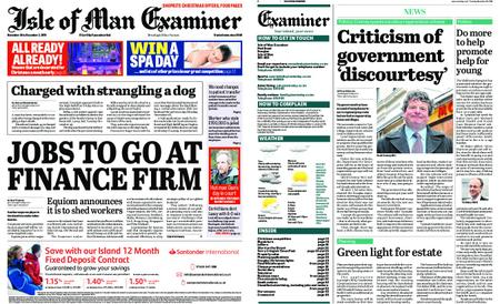 Isle of Man Examiner – November 26, 2019