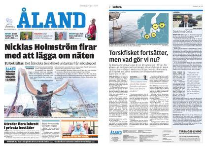 Ålandstidningen – 24 juli 2019