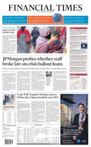 Financial Times Middle East - September 9, 2020