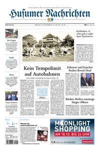 Husumer Nachrichten - 18. Oktober 2019