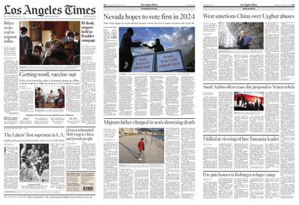 Los Angeles Times – March 23, 2021
