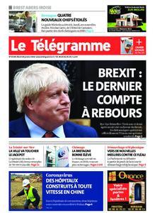 Le Télégramme Brest Abers Iroise – 28 janvier 2020