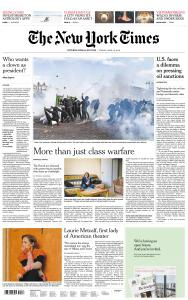 International New York Times - 19 April 2019