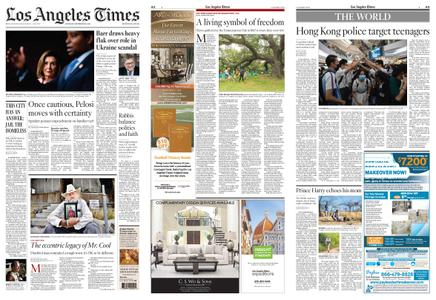 Los Angeles Times – September 28, 2019