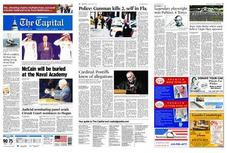 The Capital – August 27, 2018