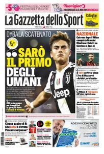La Gazzetta dello Sport Roma – 06 ottobre 2018