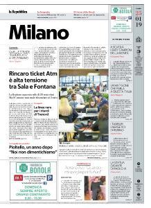 la Repubblica Milano - 25 Gennaio 2019