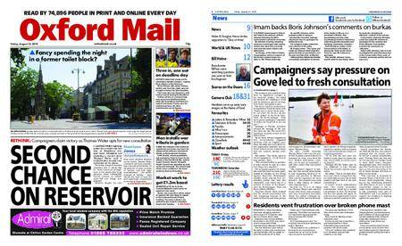 Oxford Mail – August 10, 2018