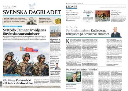 Svenska Dagbladet – 14 september 2018