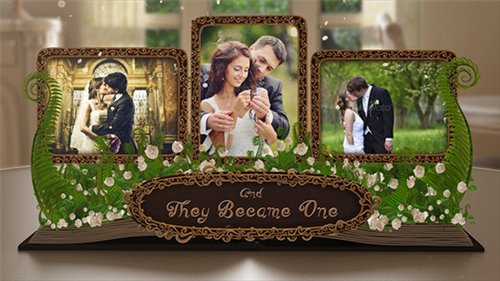 Wedding Album Pop up Book - After Effects Project (Videohive)