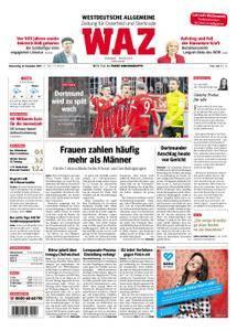 WAZ Westdeutsche Allgemeine Zeitung Oberhausen-Sterkrade - 21. Dezember 2017
