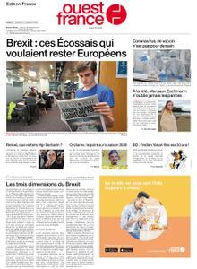 Ouest-France Édition France – 31 janvier 2020