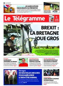 Le Télégramme Auray – 31 janvier 2020