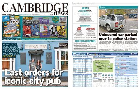 Cambridge News – October 26, 2021