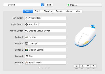 SteerMouse 5.0.4 Mac OS X
