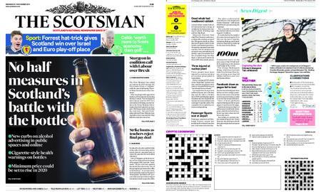 The Scotsman – November 21, 2018