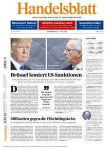 Handelsblatt - 17. Mai 2018