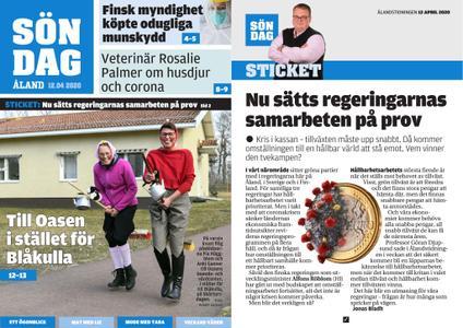 Ålandstidningen – 12 april 2020