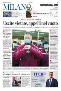 Corriere della Sera Milano – 19 marzo 2020