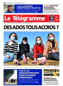 Le Télégramme Ouest Cornouaille – 28 mars 2021