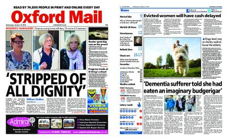 Oxford Mail – October 10, 2018