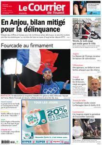 Le Courrier de l'Ouest Angers - 21 février 2018