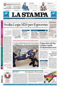 La Stampa Imperia e Sanremo - 15 Marzo 2018