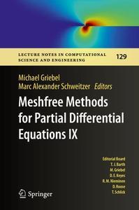 Meshfree Methods for Partial Differential Equations IX (Repost)