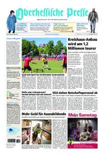 Oberhessische Presse Marburg/Ostkreis - 16. Mai 2019