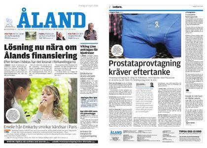 Ålandstidningen – 16 mars 2018