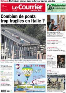 Le Courrier de l'Ouest Angers - 16 août 2018