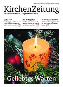 KirchenZeitung für das Bistum Aachen – 29. November 2020