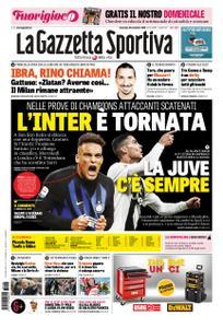 La Gazzetta dello Sport Roma – 25 novembre 2018