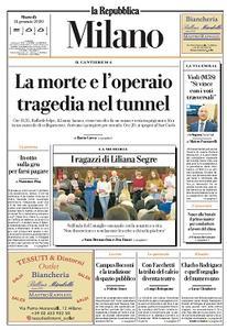 la Repubblica Milano - 14 Gennaio 2020