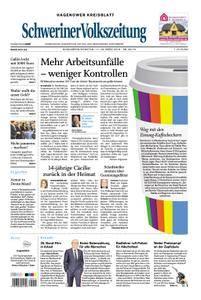 Schweriner Volkszeitung Hagenower Kreisblatt - 17. März 2018