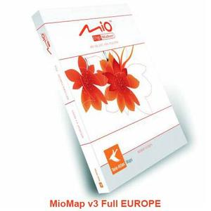 I-go and MioMap 3.2. United Arabic Emirates Map