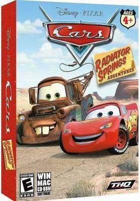 PIXAR Cars - Radiator Springs Adventurs