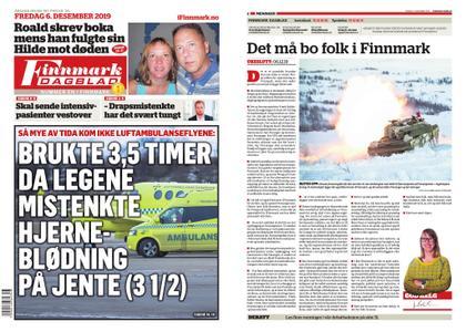 Finnmark Dagblad – 06. desember 2019