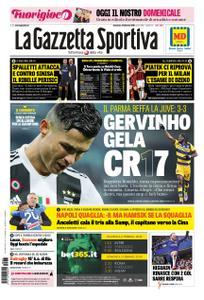 La Gazzetta dello Sport Roma – 03 febbraio 2019