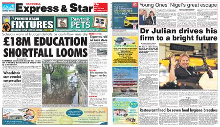 Express and Star Sandwell Edition – June 14, 2019