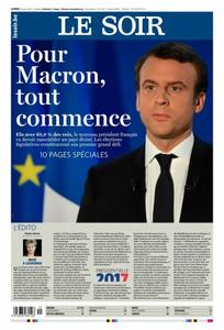 Le Soir du Lundi 08 Mai 2017