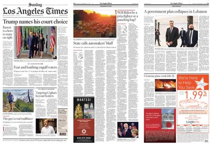 Los Angeles Times – September 27, 2020