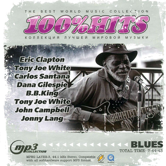 Blues - The Best World Music Collection - 100%Hits (2009)