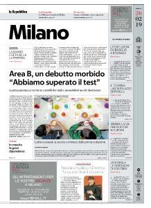 la Repubblica Milano - 26 Febbraio 2019