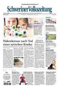 Schweriner Volkszeitung Hagenower Kreisblatt - 01. August 2018