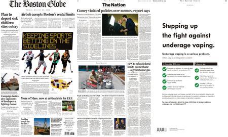 The Boston Globe – August 30, 2019
