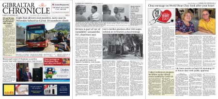 Gibraltar Chronicle – 29 September 2020
