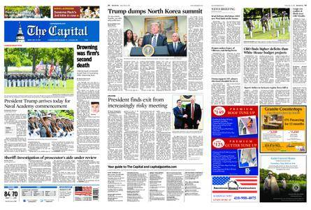 The Capital – May 25, 2018