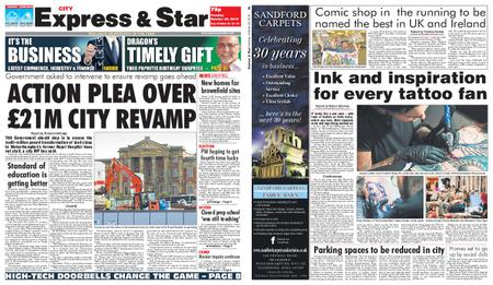 Express and Star City Edition – October 29, 2019