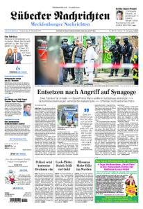 Lübecker Nachrichten Mecklenburg - 10. Oktober 2019